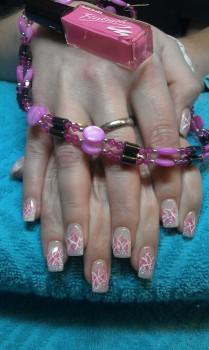 Acrylfingernägel elegant