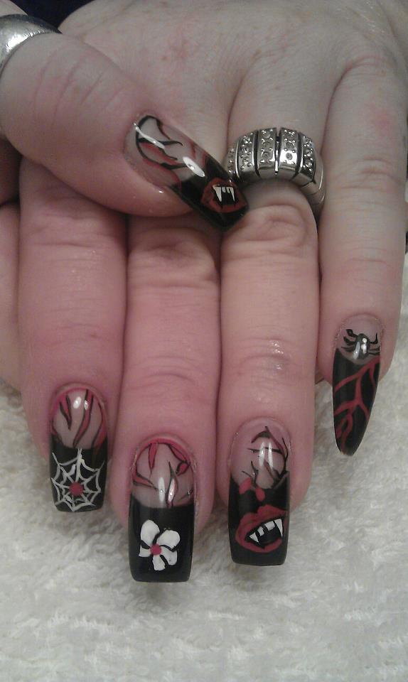 Halloween Fingernägel