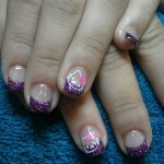 Hello Kitty Acryl Finger Nagel Lack