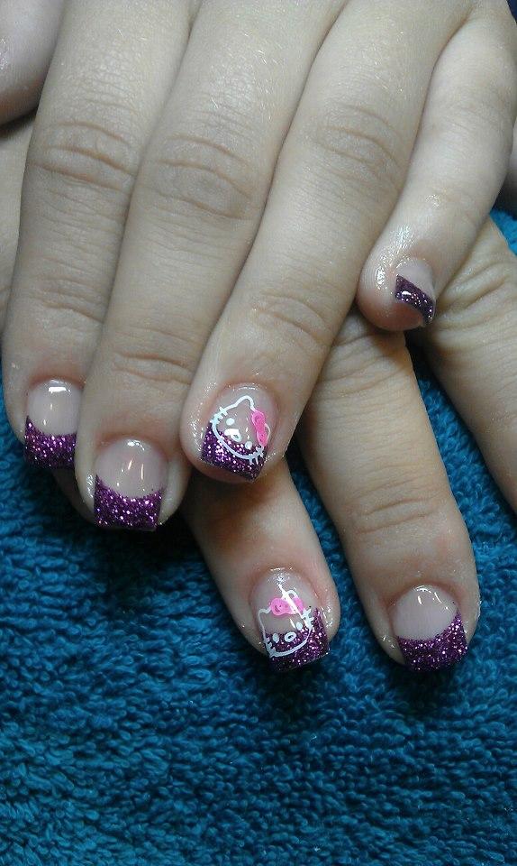 Hello Kitty Acryl Finger Nagel Lack