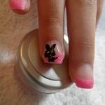 Rosa Fingernägelchen