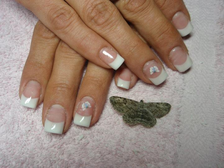 Schmetterling Fingernägel Design
