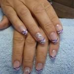 Schmetterlings Motiv für Fingernägel