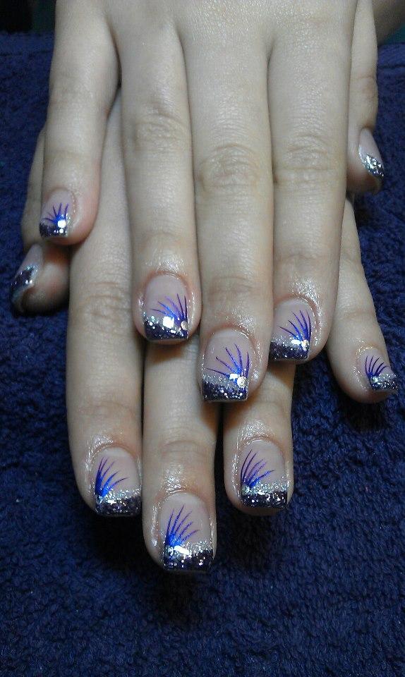 funkelnde Fingernägel
