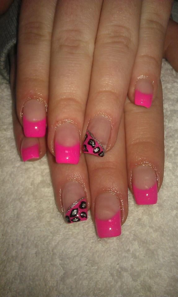 rosa lackierte fingern gel gecko nails. Black Bedroom Furniture Sets. Home Design Ideas
